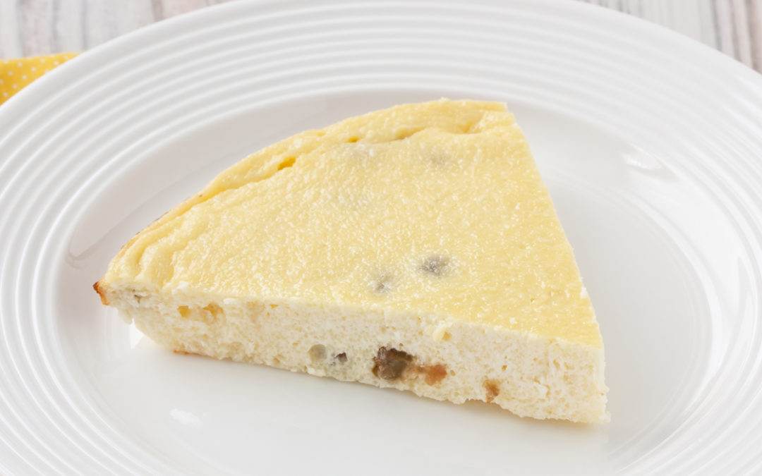 Great Grandmom Gray's Cottage Cheese Pie