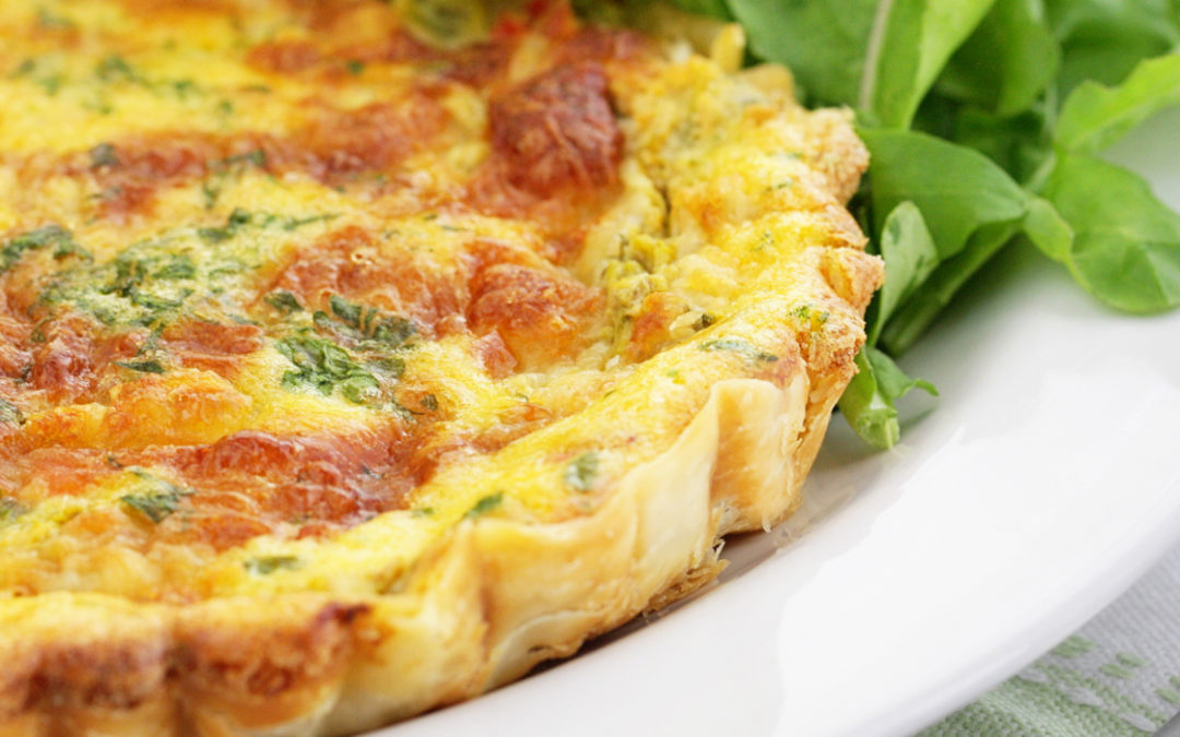 Yogurt Quiche